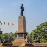Первый премьер-министр Шри-Ланки Сенанаяке Дон Стивен