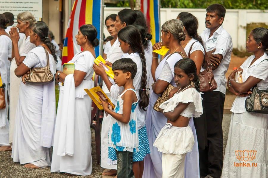 Население Шри-Ланки