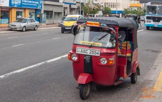 Такси в Шри-Ланке