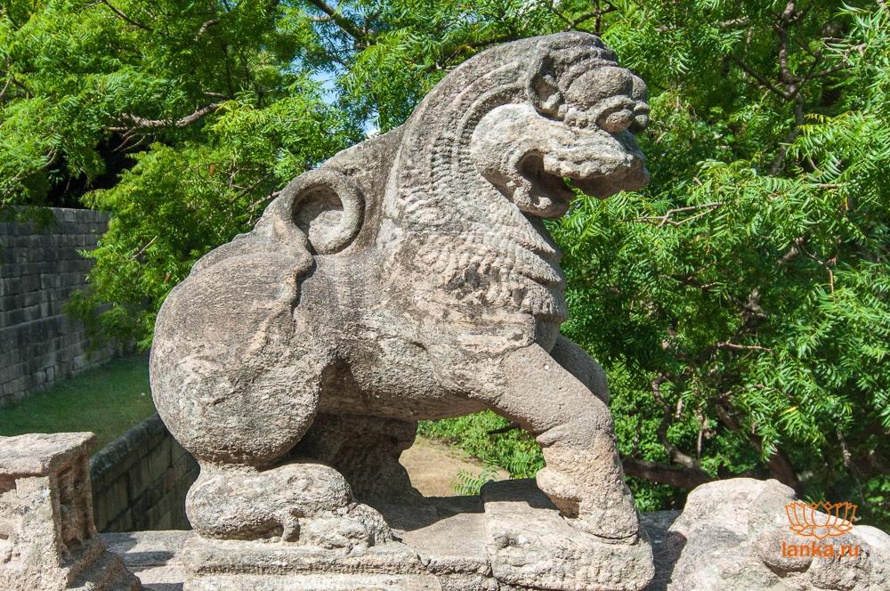 Лев Япахувы (Yapahuwa)