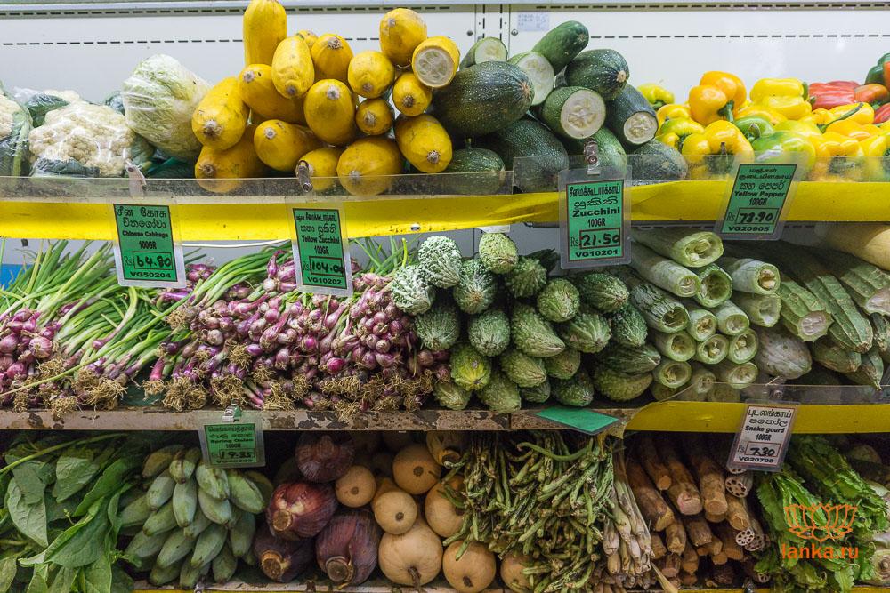 Цены в Шри-Ланке
