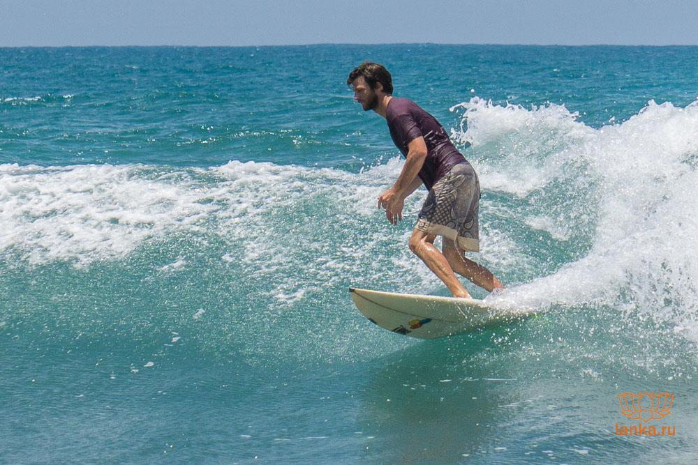Серфинг в Аругам Бей