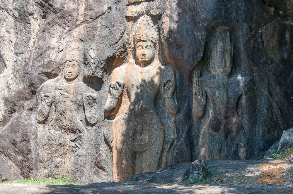 Неизвестная скульптура, Майтрея и Ваджрапани