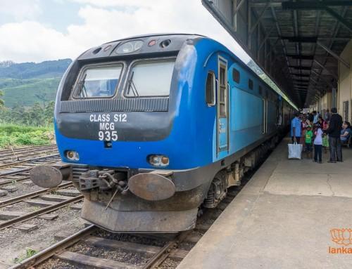 Типы поездов и классы вагонов Шри-Ланки