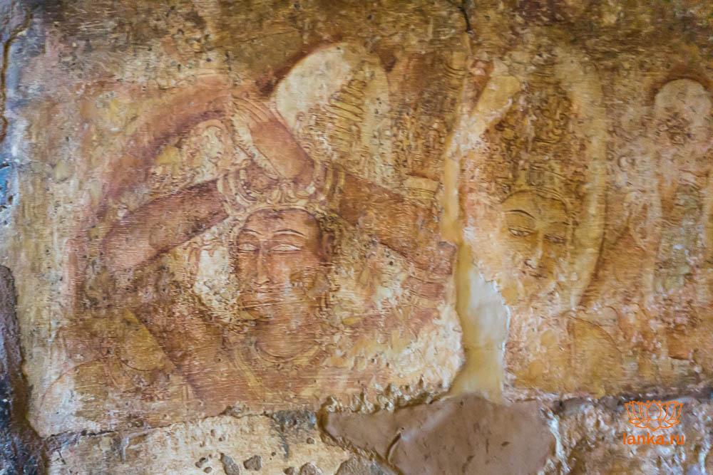 Дом фресок Тиванка, Полоннарува (Tivanka Image House, Polonnaruwa)