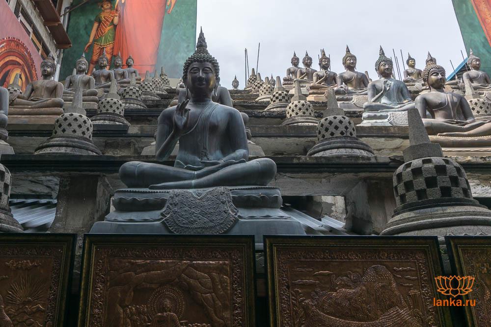 Буддийский храм Гангарамая (Gangaramaya Temple)