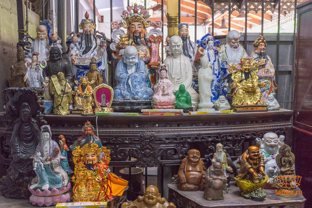 Буддийский храм Гангарамая