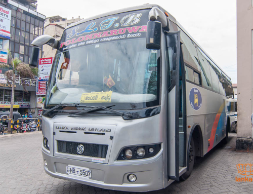 Автобус-экспресс «Коломбо — Галле» и «Коломбо — Матара»
