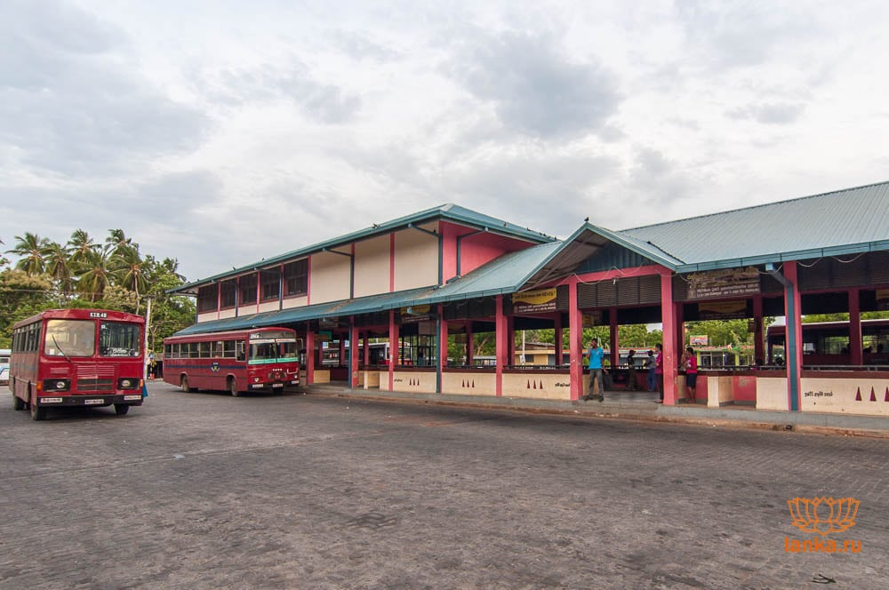 Автобусная станция Тиссамахарама