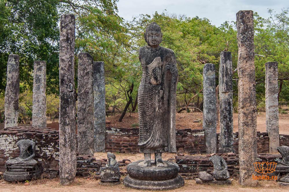 Атадаге, Полоннарува (Atadage, Polonnaruwa)