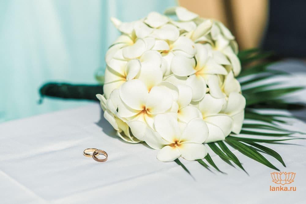 Официальная регистрация брака в Шри-Ланке