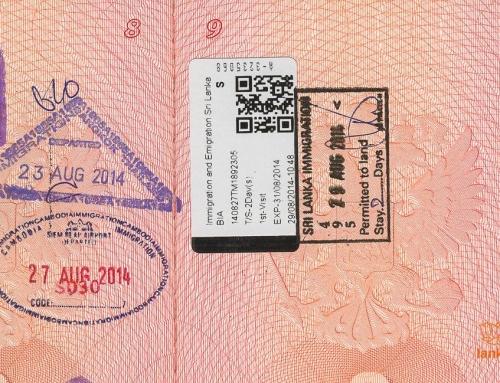 Типы виз в Шри-Ланку