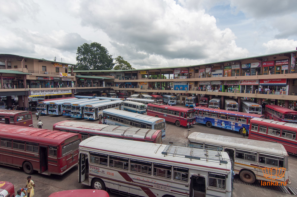 Автобусная станция в Курунегала
