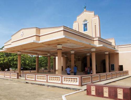 Католическая церковь святой Анны (St. Anne's National Shrine Thalawila)