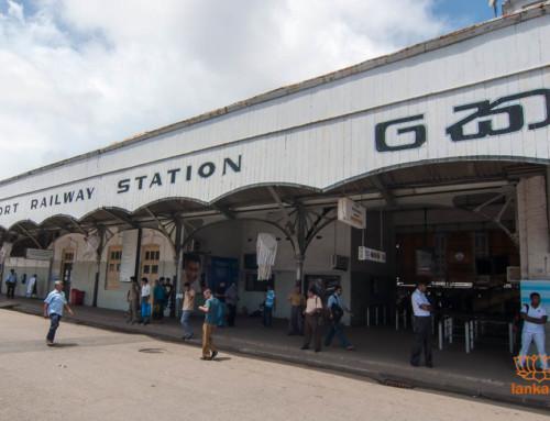 Новое видео: Железнодорожный вокзал Коломбо Форт