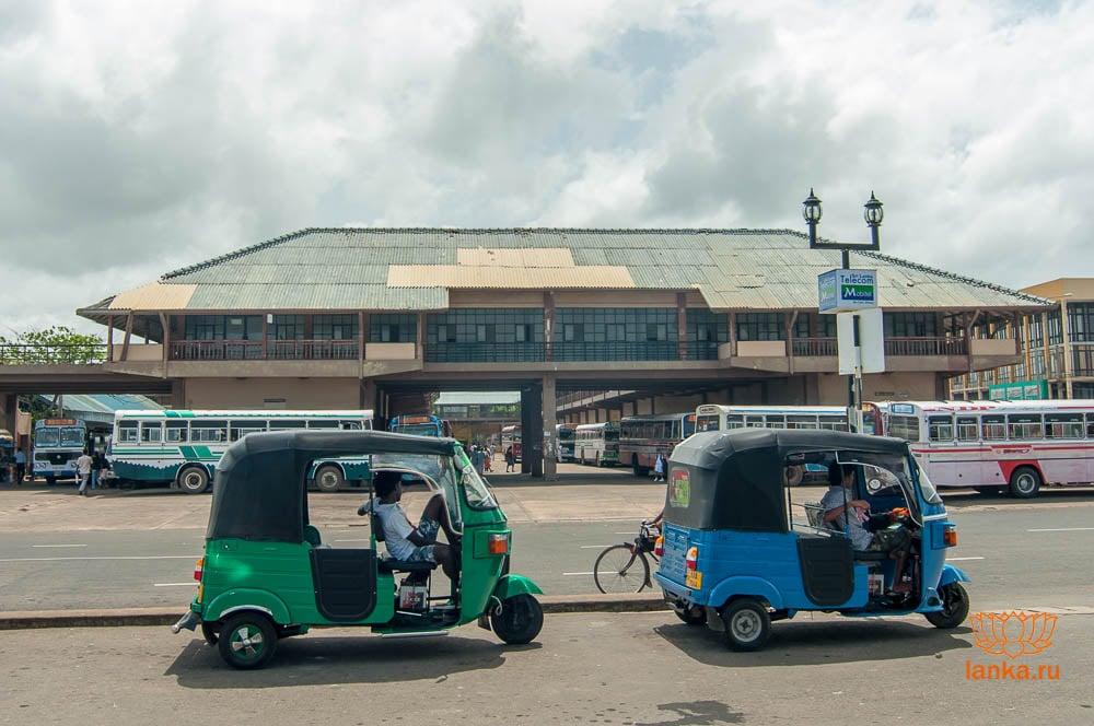 Автобусная станция в Матаре