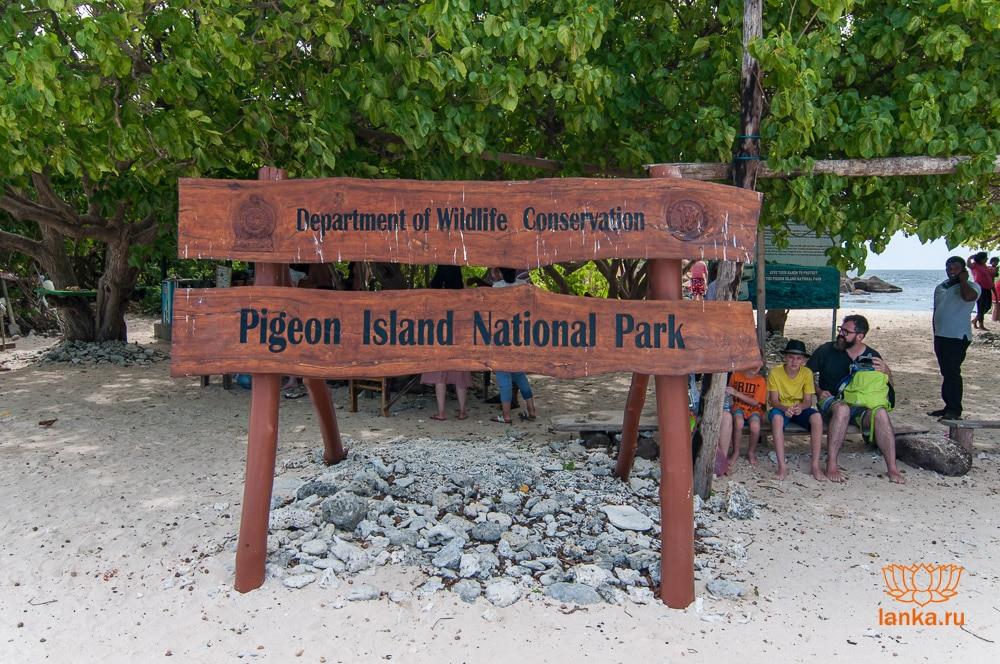 Остров Пиджеон (Pigeon Island)