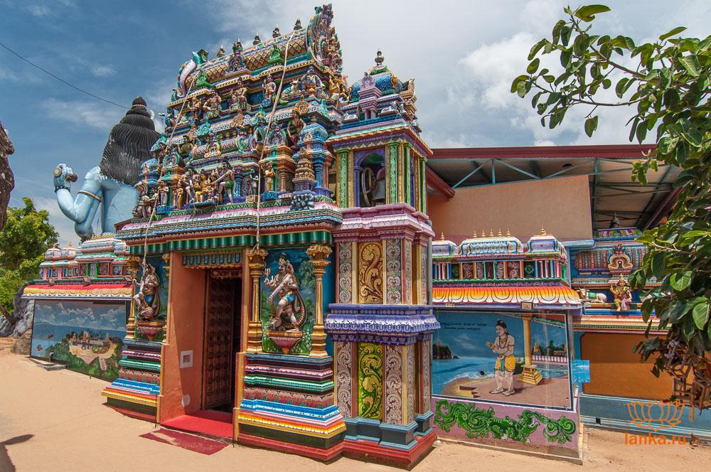 Храм Конесварам (Koneswaram)