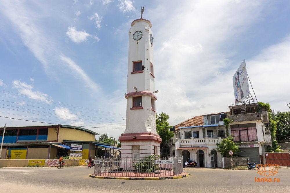 Город Тринкомали - центр города