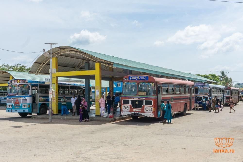 Автобусная станция Тринкомали