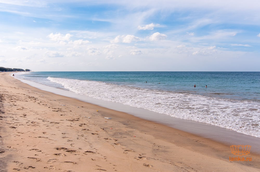 Пляж в Баттикалоа