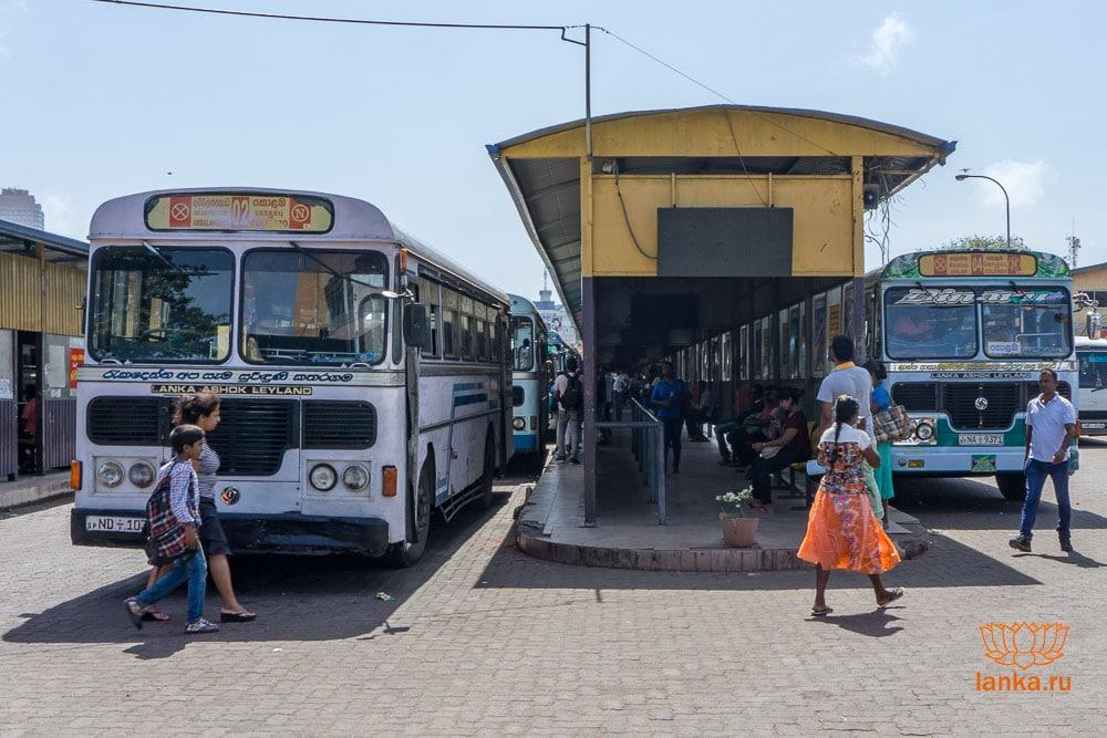 Автобус 02 Colombo - Ambalangoda