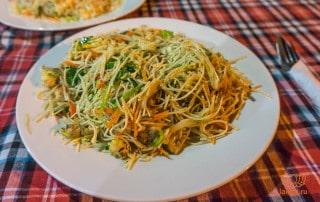 Лапша с овощами (Унаватуна)
