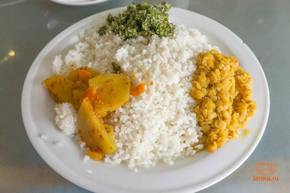 Рис с карри - совсем просто (Канди)