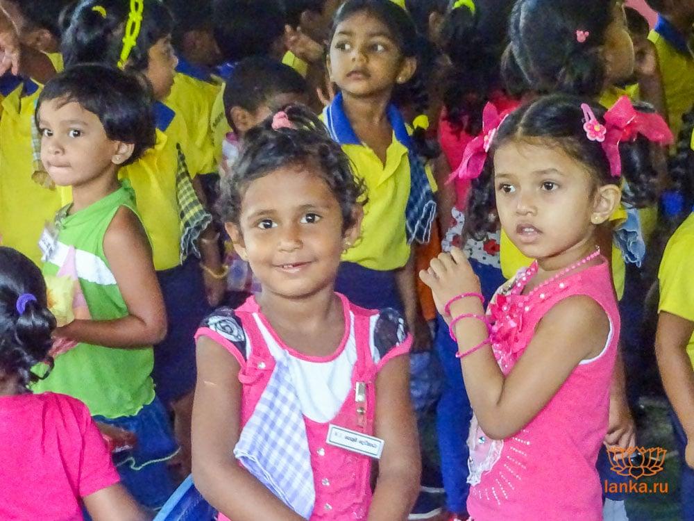 Дети Шри-Ланки