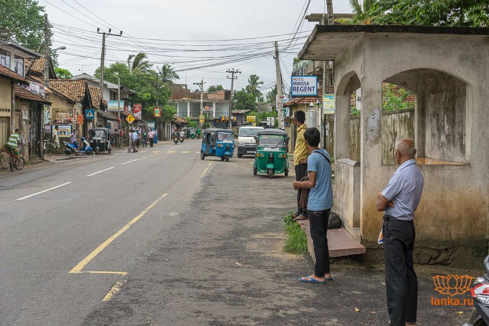 Автобусная остановка Мирисса