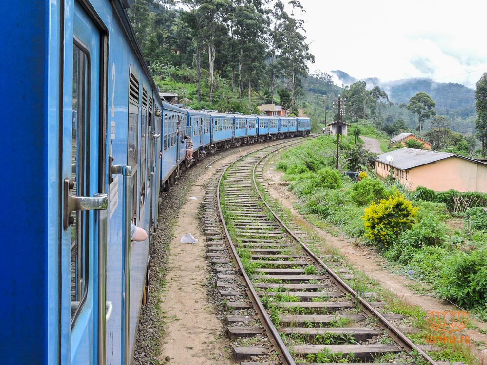 Поезд из Нувара Элии в Эллу