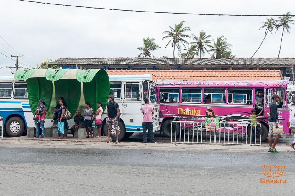Автобусная остновка Хиккадува