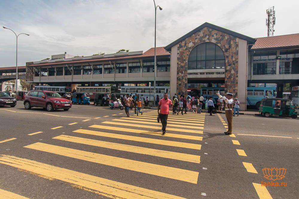 Автобусная станция в Галле