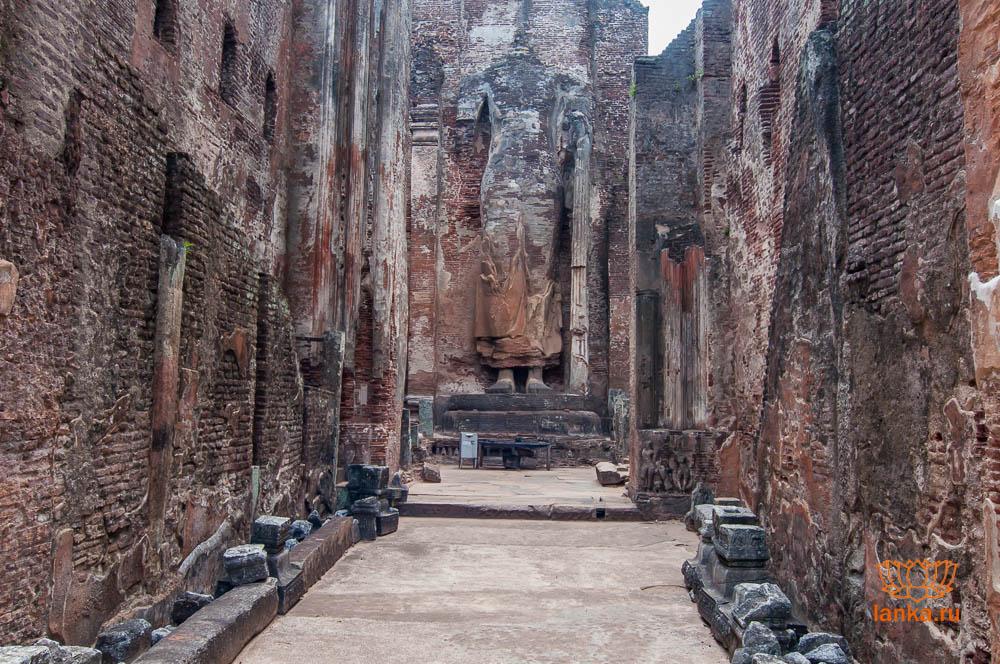 Ланкатилака, Полоннарува, (Lankatilaka, Polonnaruwa)