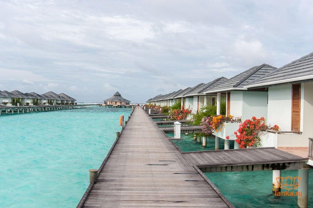Мальдивы. Бунгало на воде