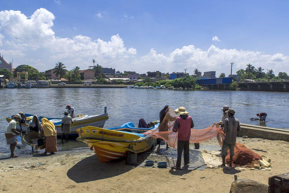 Рыбаки в Чилау