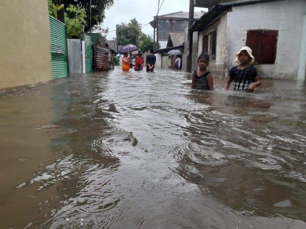 Наводнение в Негомбо