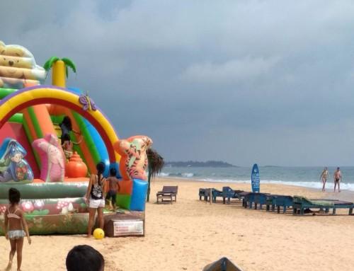 Серф-спот пляжа Наригам (Narigama)