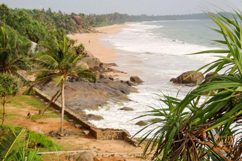 Пляж Индурува (Induruwa)