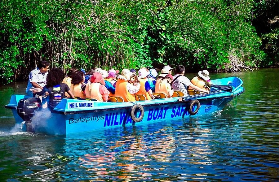 Лодочное сафари по реке и озеру Маду Ганга (Madu Ganga)