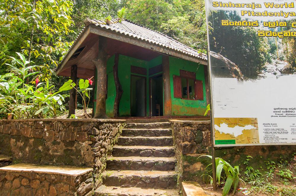Вход в лес Синхараджа - Pitadeniya