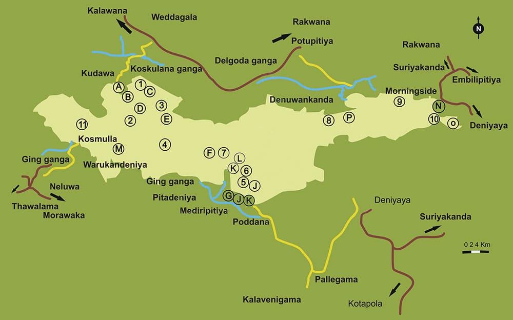Карта Синхараджи
