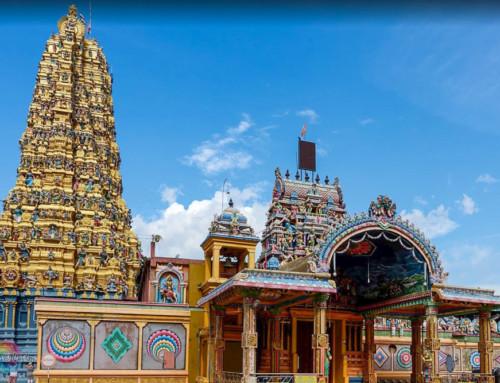 Индуистский храм Шри Мутхумариамман (Sri Muthumariamman)