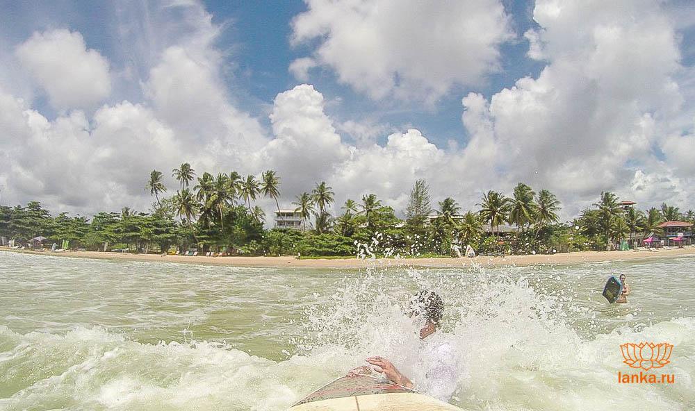 Серфинг в Велигама